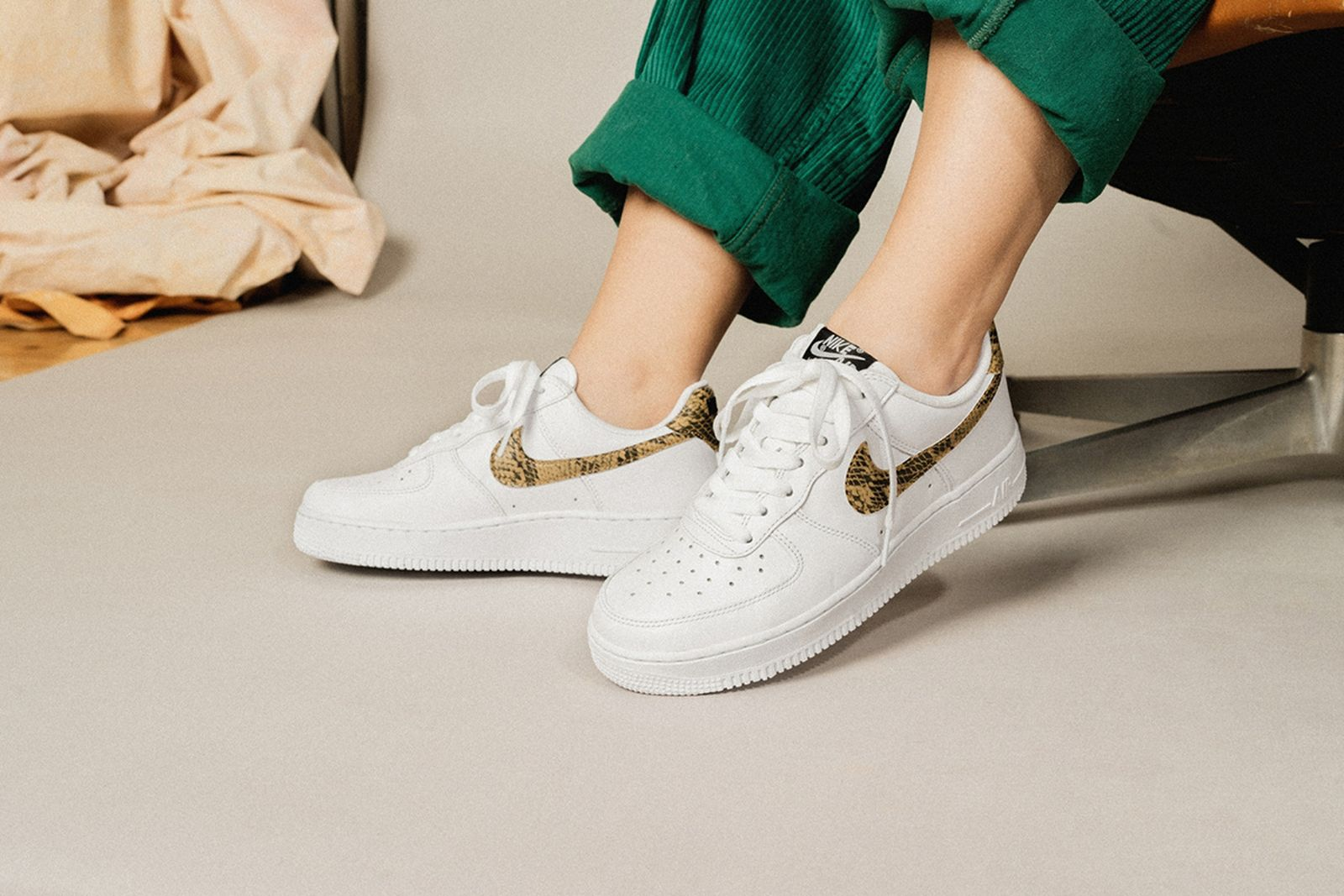 nike air force 1 ivory snake release date price