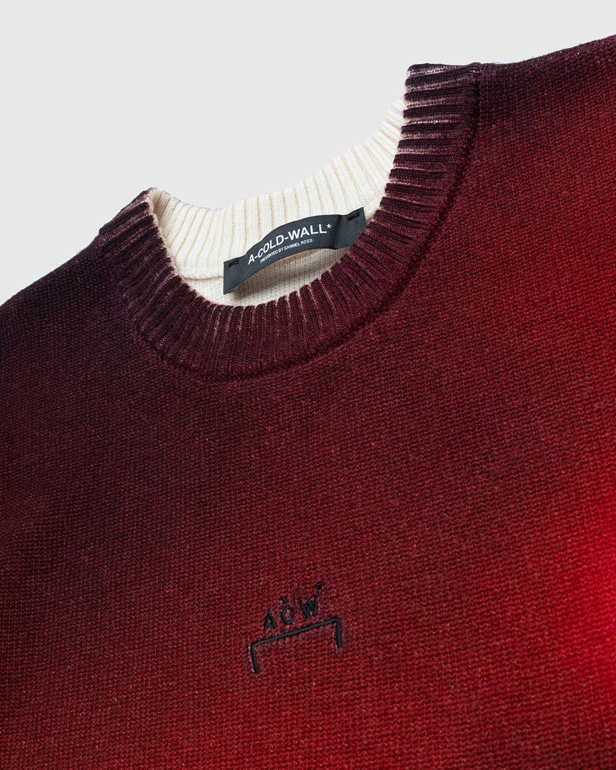 A-COLD-WALL* – Digital Print Knit Red - Image 3