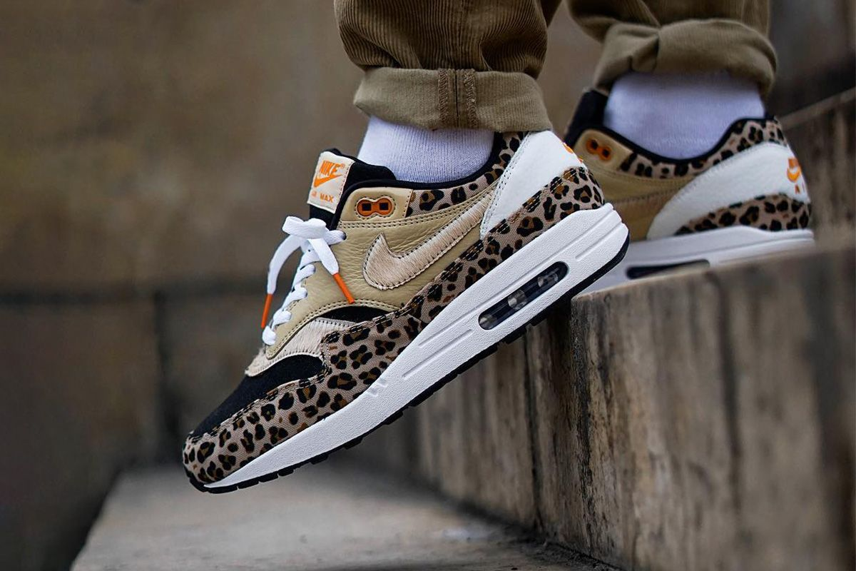"""sleek info for clearance sale Custom Nike Air Max 1 """"Leopard"""" & More Feature in This ..."""