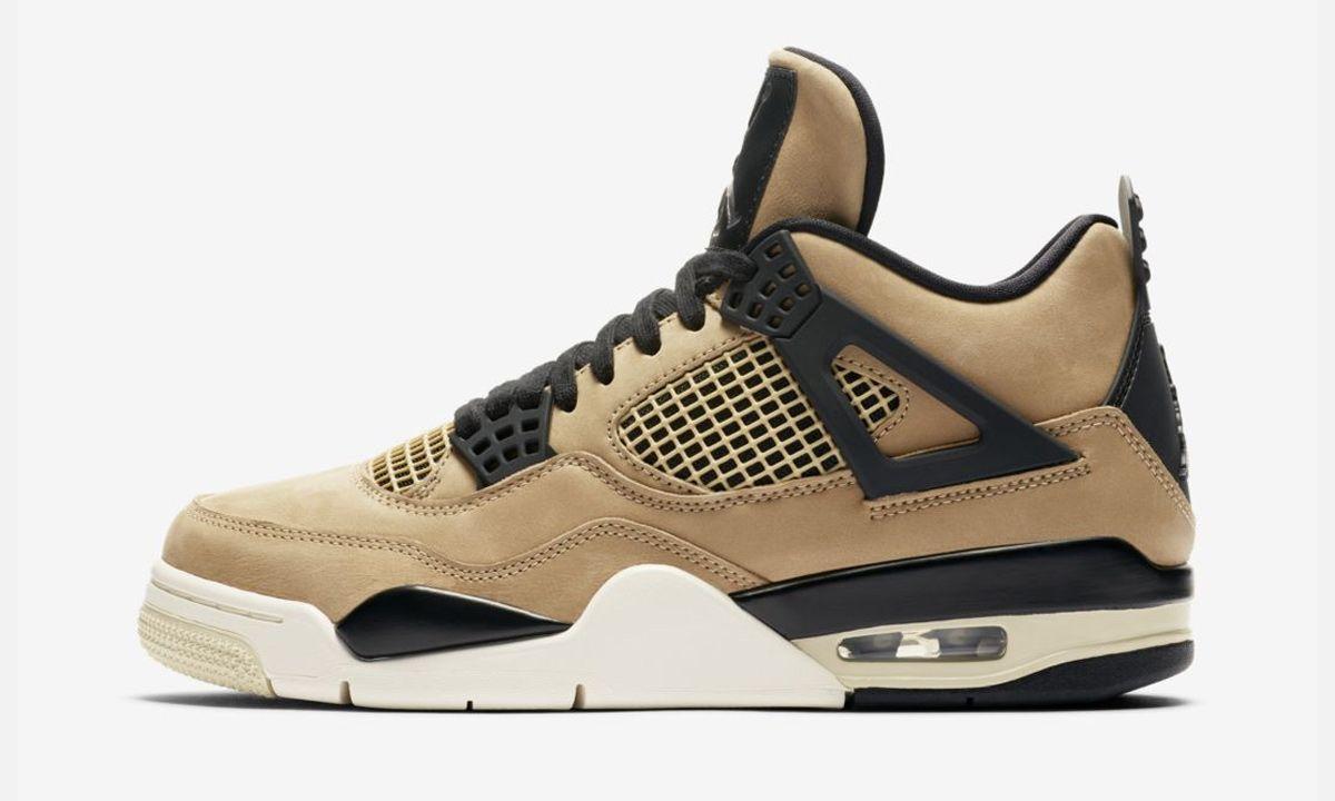 "Nike Imagines the Air Jordan 4 In a Muted ""Mushroom"" Variation"