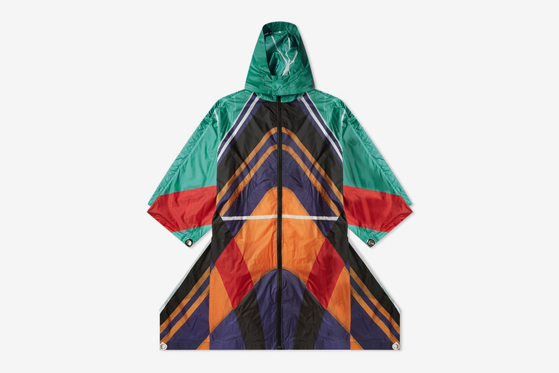 Ripstop Flag Oversized Coat