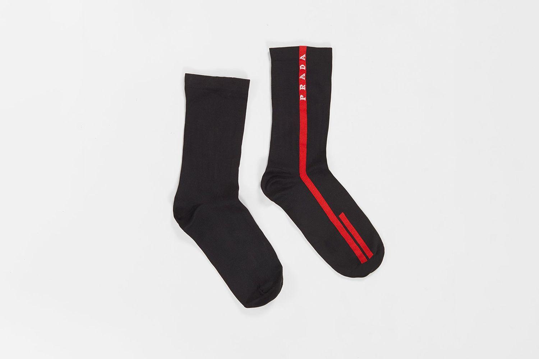 Men's Logo Stripe Socks