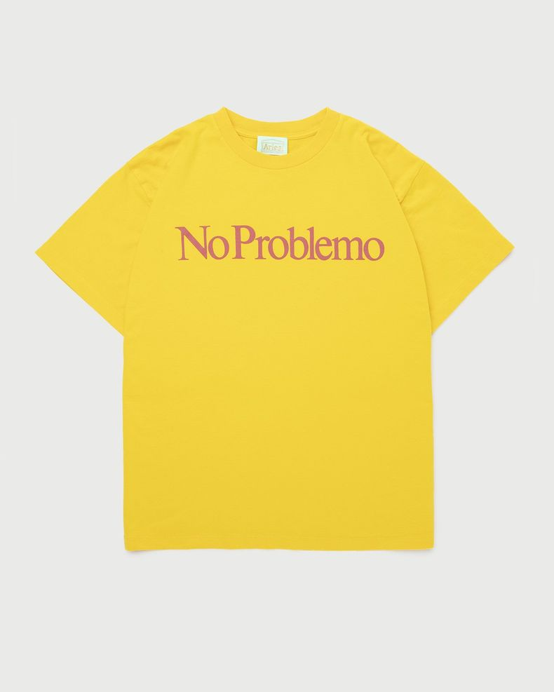 Aries - No Problemo Tee Yellow