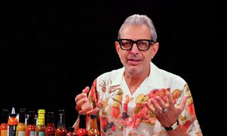 Jeff Goldblum Talks Hanging With Quavo on Hilarious Episode of 'Hot Ones'