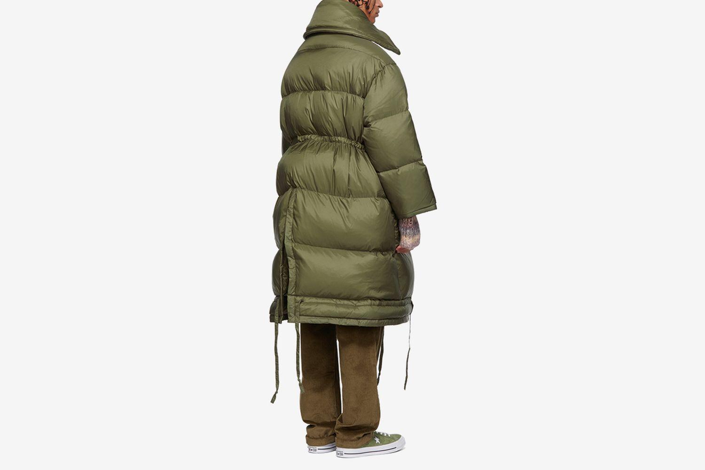 Down Long Jacket
