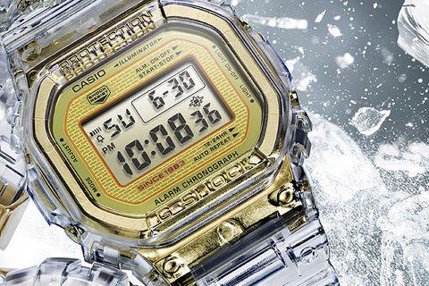 g shock 35 anniversary glacier gold dw 5035E G-SHOCK DW-5035E