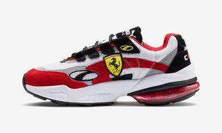 Ferrari & PUMA Are Releasing Two Prancing Horse-Adorned Sneakers This Week