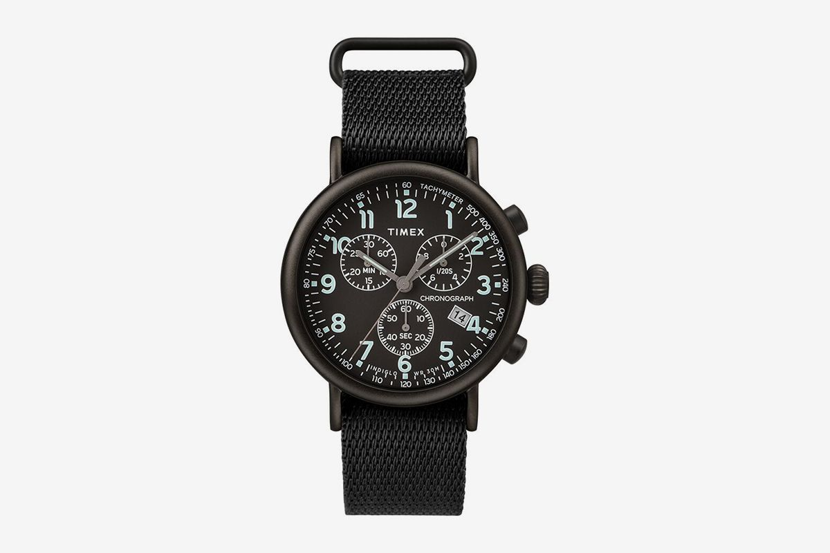 Standard Chronograph 41mm Fabric Strap Watch