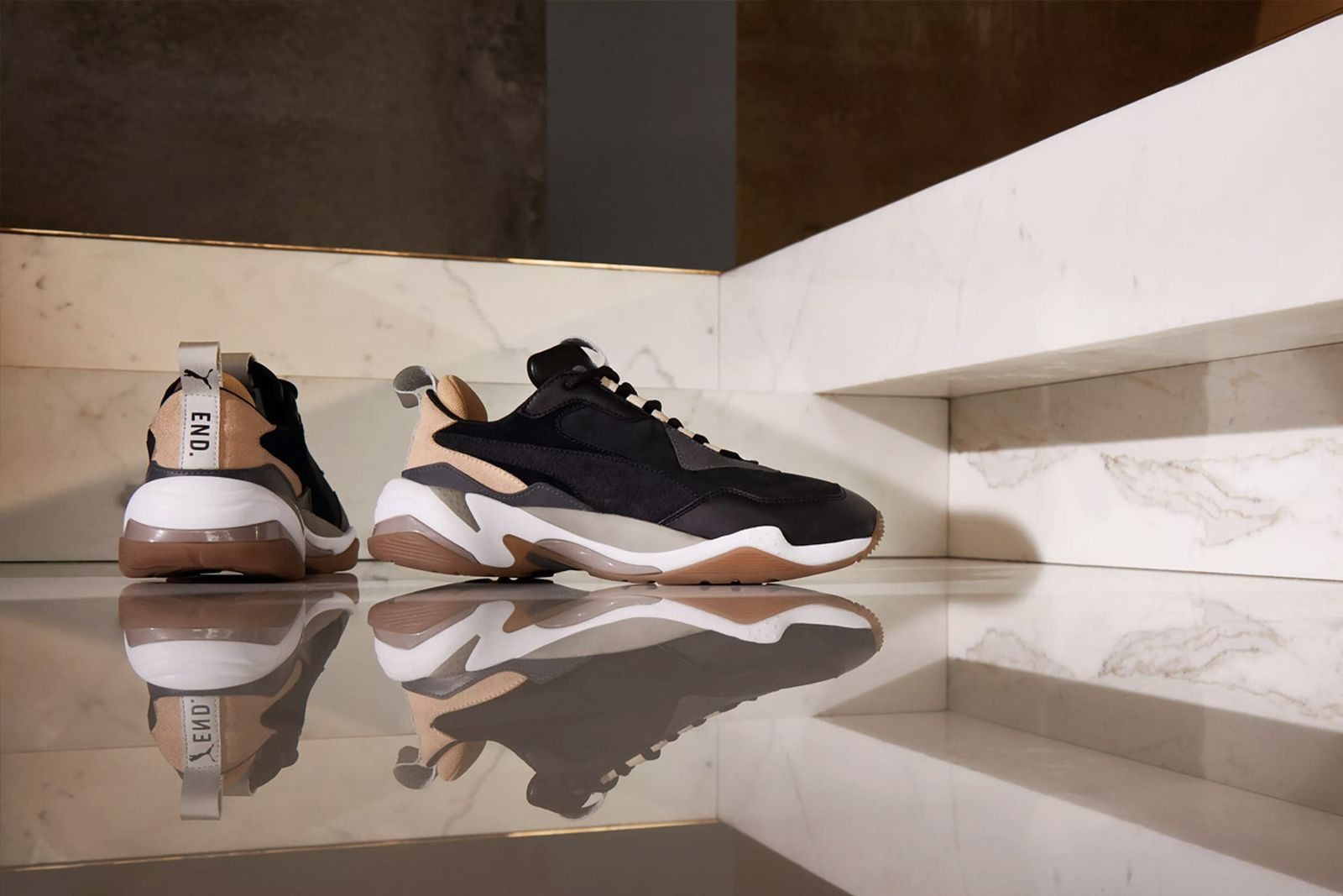 end puma thunder shadow rise release date price end clothing