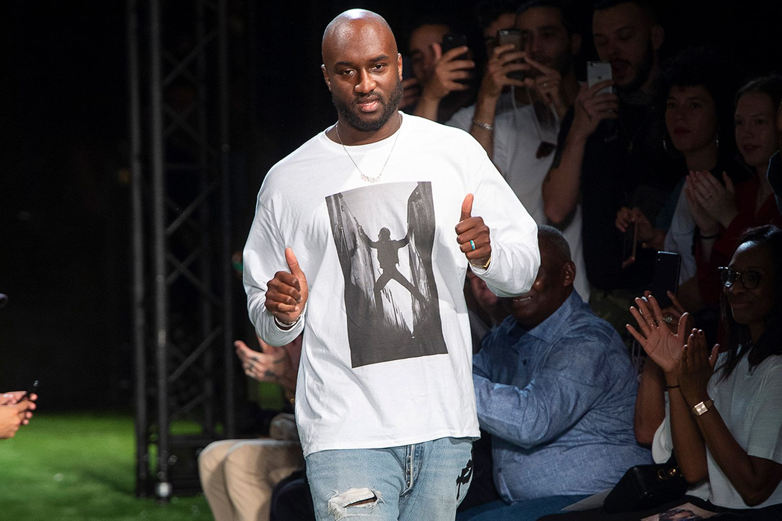 what happens to fashion week after virgil abloh main Louis Vuitton OFF-WHITE c/o Virgil Abloh ann demeulemeester