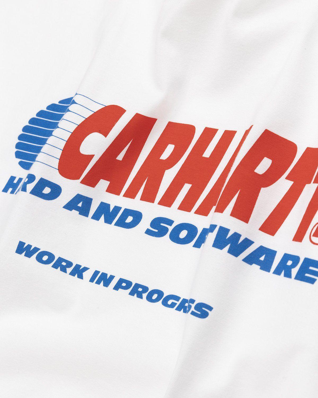 Carhartt WIP – Software T-Shirt White - Image 4