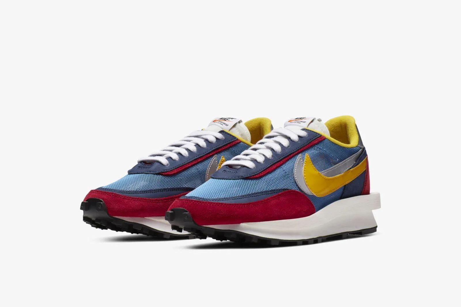 sacai nike ldwaffle blazer mid release date price product Converse GOLF Le FLEUR* Fear of God x Nike New Balance