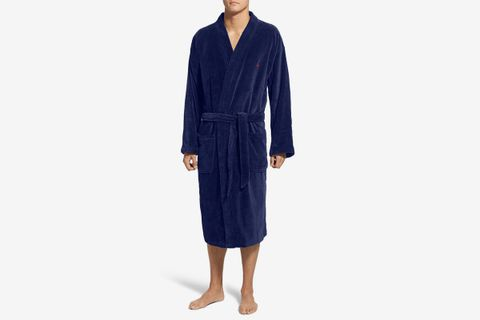 Cotton Fleece Robe