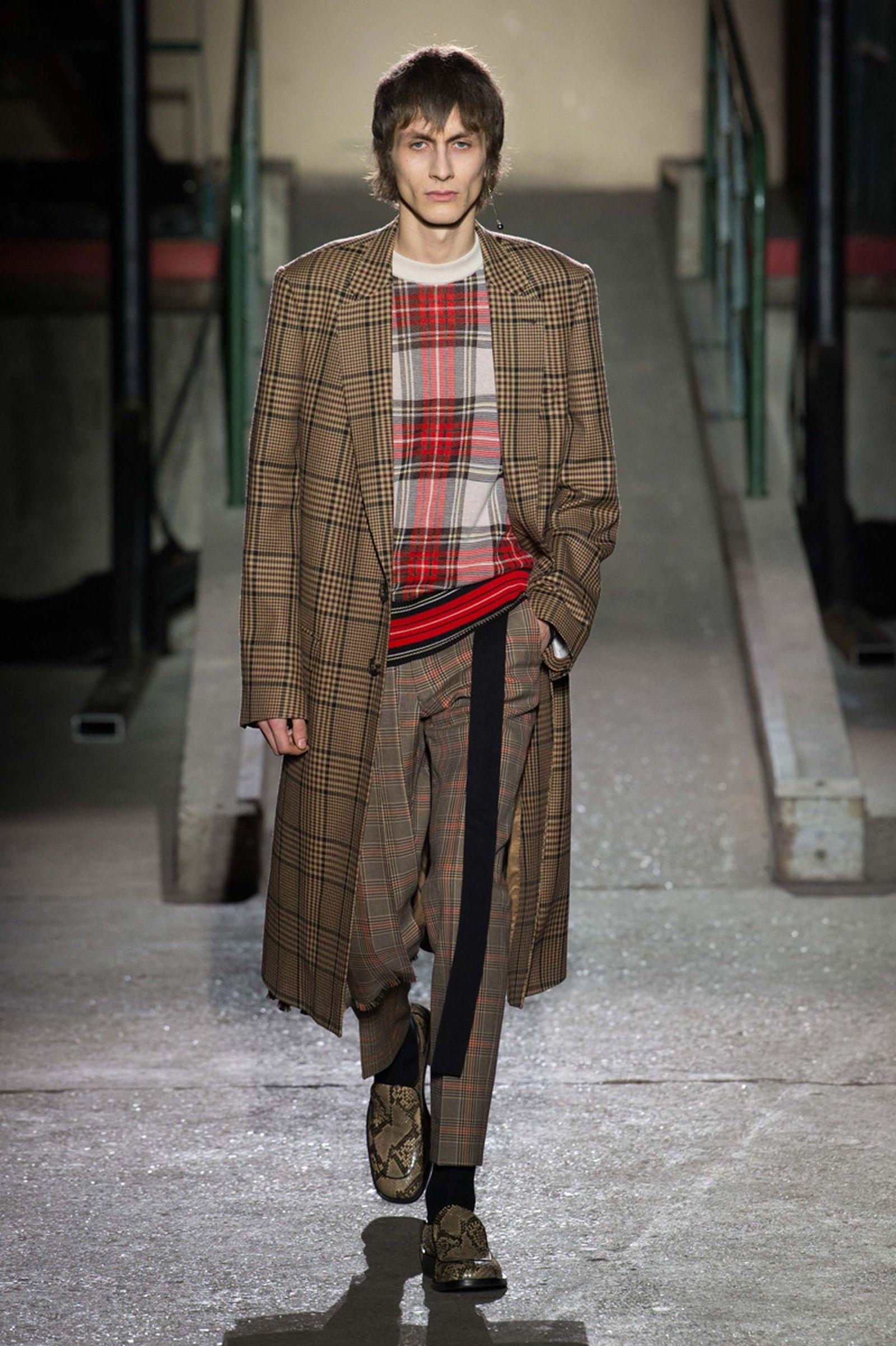 dries van noten AW18 19 look001 fashion week 2018 paris fashion week runway