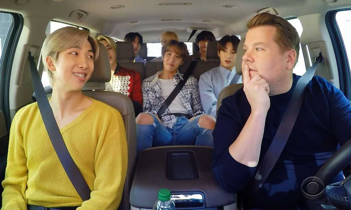 Watch BTS Cover Post Malone & Cardi B on 'Carpool Karaoke'