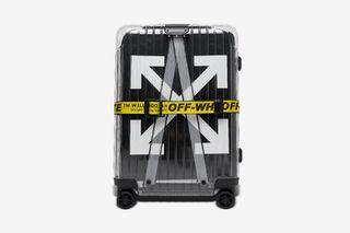 "97c48e4a273 SSENSE Has Restocked the OFF-WHITE x RIMOWA ""SEE THROUGH"" Suitcases Again"