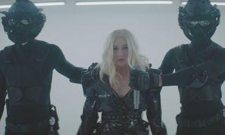 """Christina Aguilera & Demi Lovato Fight off Oppression in """"Fall in Line"""""""