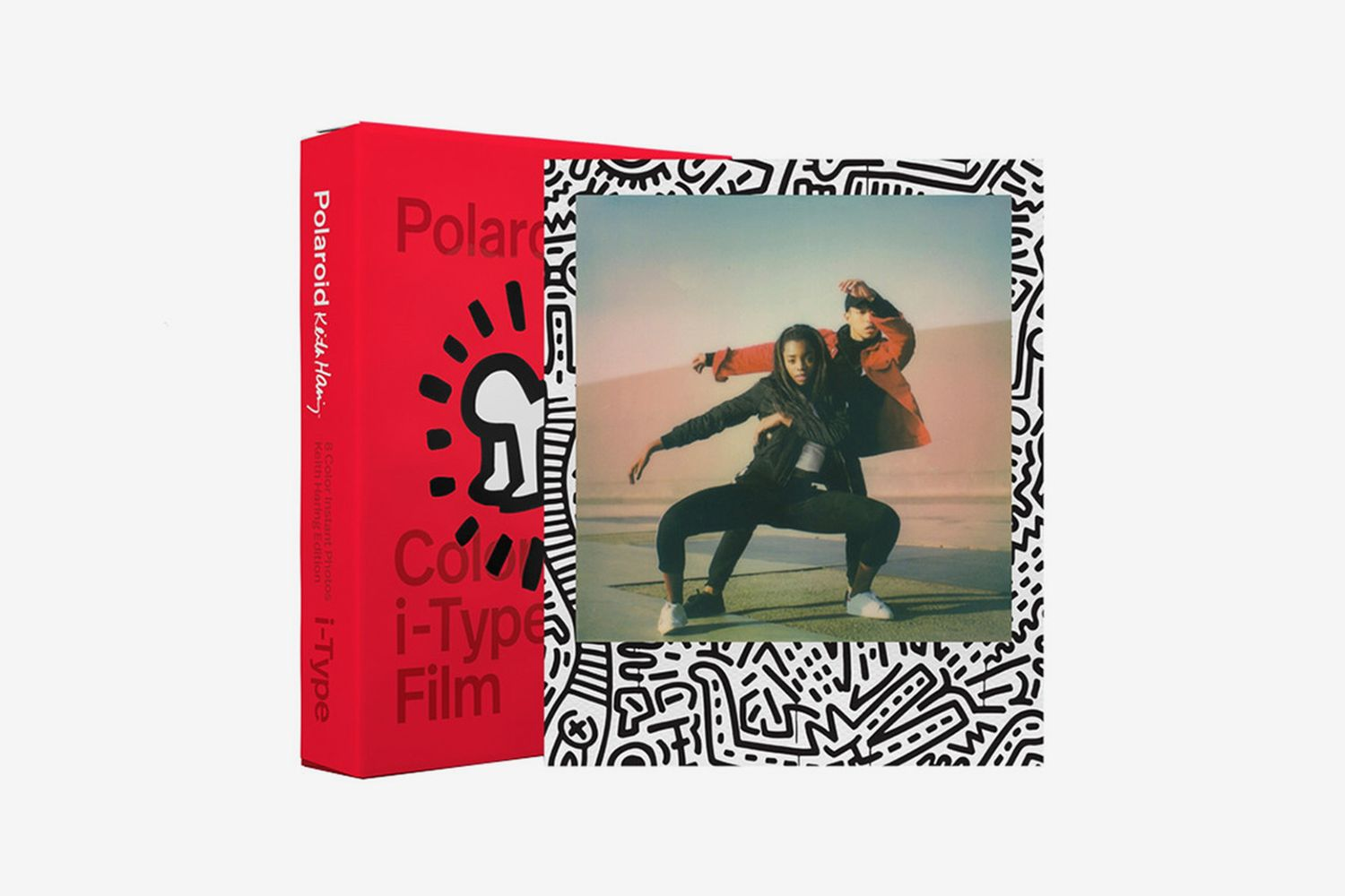 Keith Haring Color Film for i-Type 2021