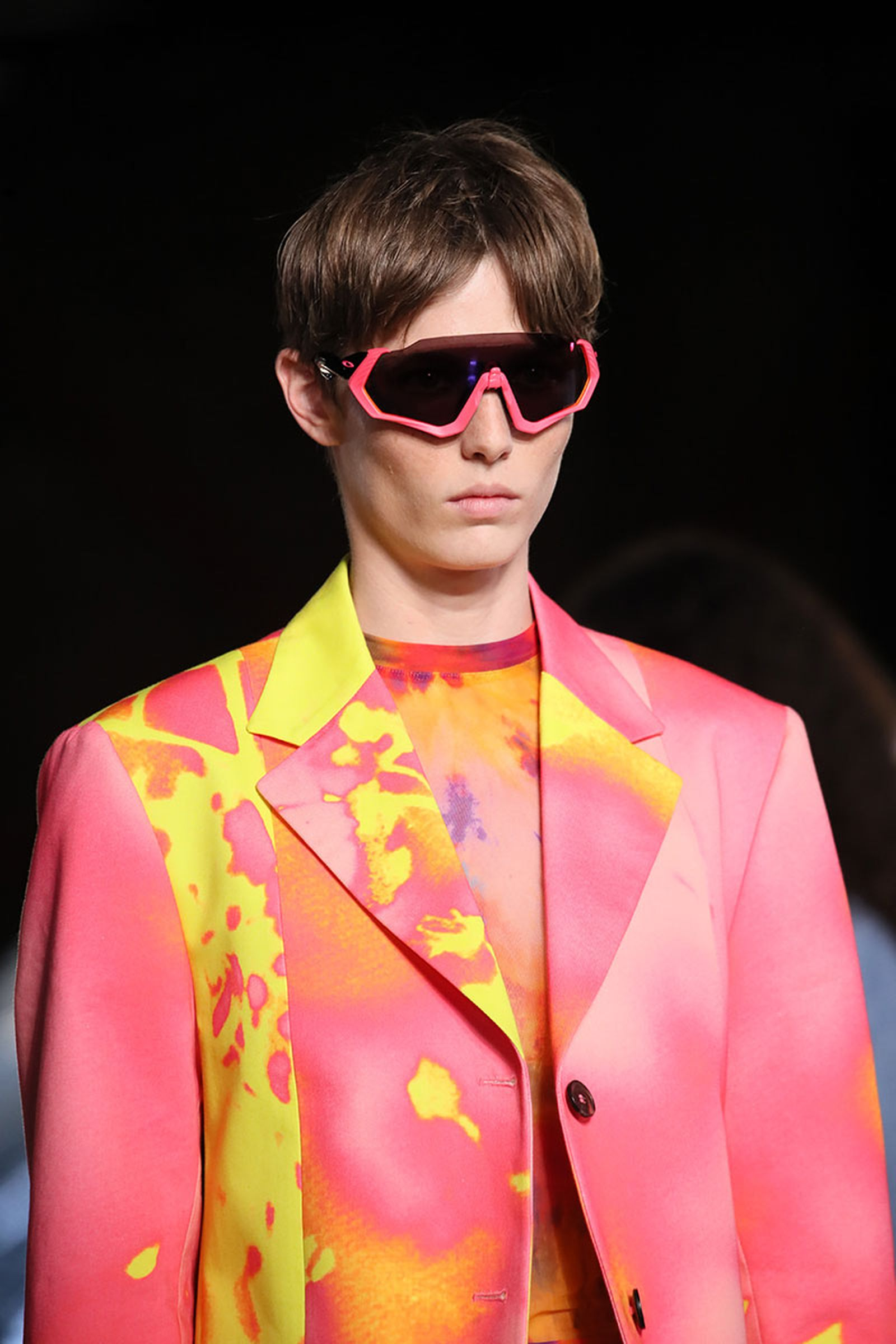 oaklet msmg runway Paris Fashion Week SS19 Pharrell Williams cycling sunglasses