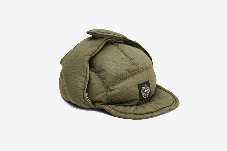 Nylon Metal Down Hat