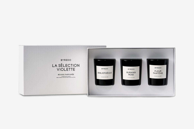Violette Mini Candle Gift Set
