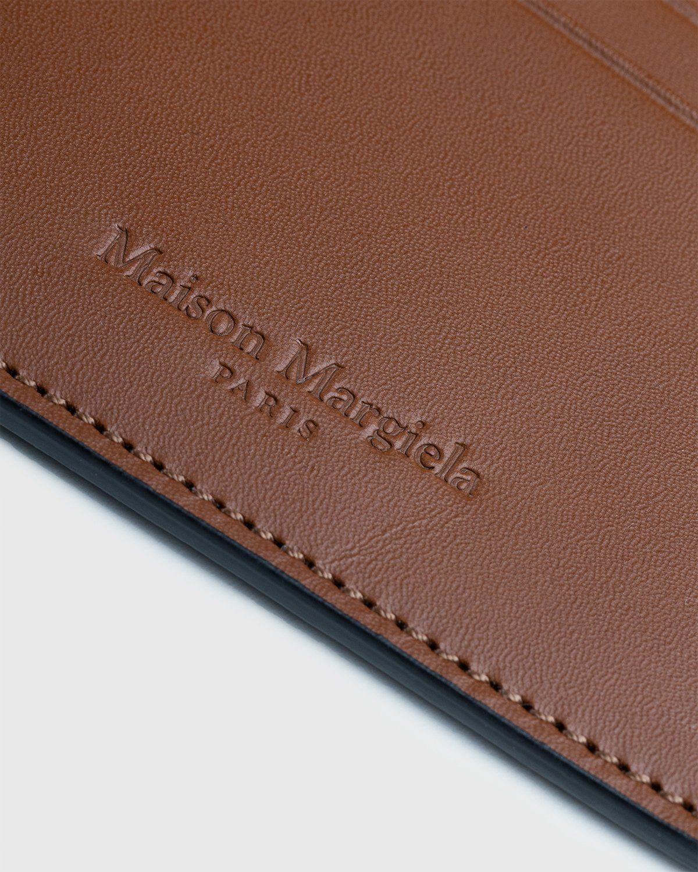 Maison Margiela – Leather Card Holder Brown - Image 5