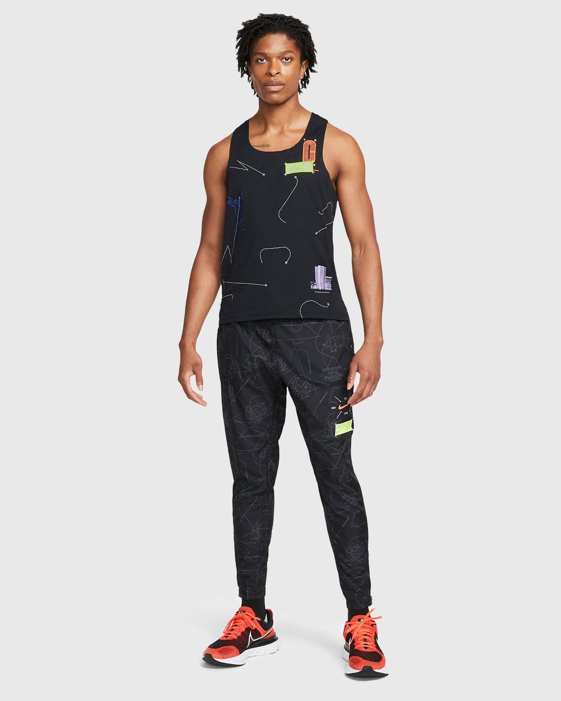 Nike x Highsnobiety – Mens Dri-Fit Berlin Aeroswift Singlet Black - Image 7