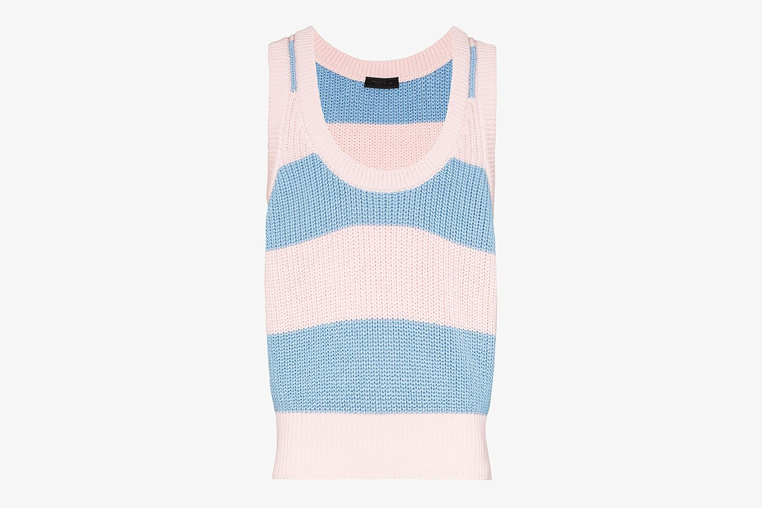 Striped Cotton Vest Top