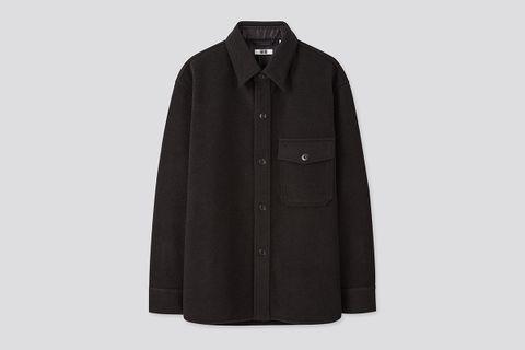 Fleece Long-Sleeve Shirt Jacket