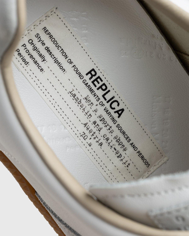 Maison Margiela – Replica Paint Drop Sneakers White - Image 4