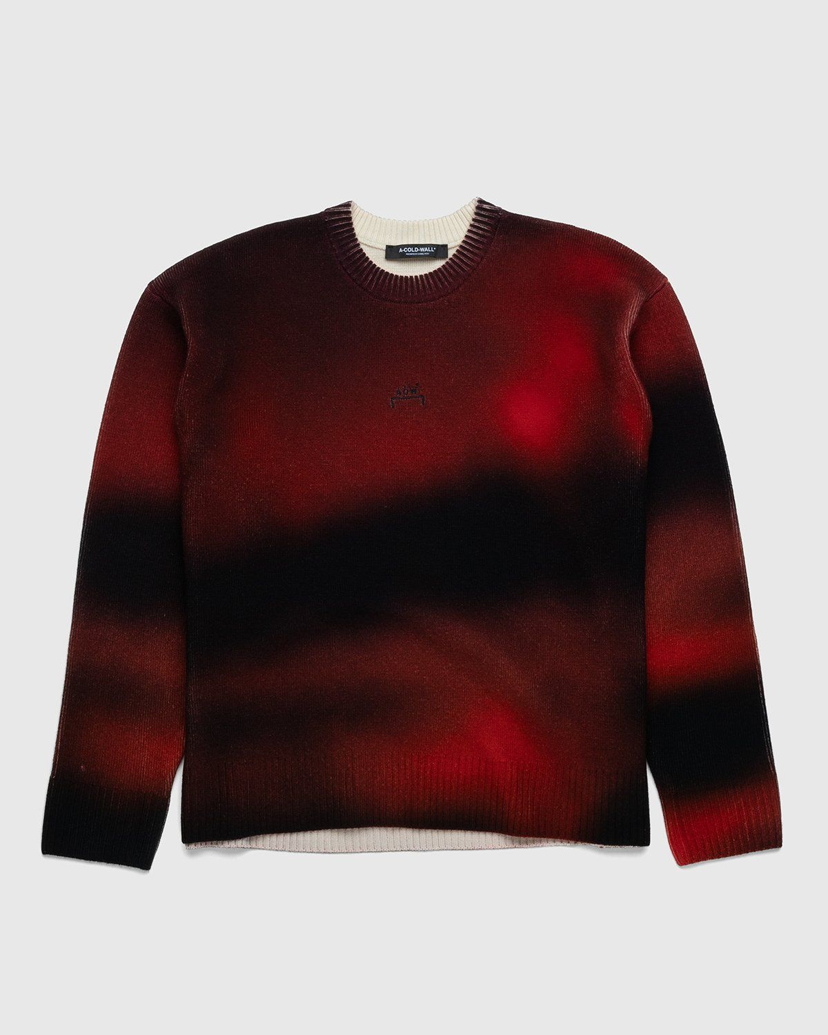 A-COLD-WALL* – Digital Print Knit Red - Image 1