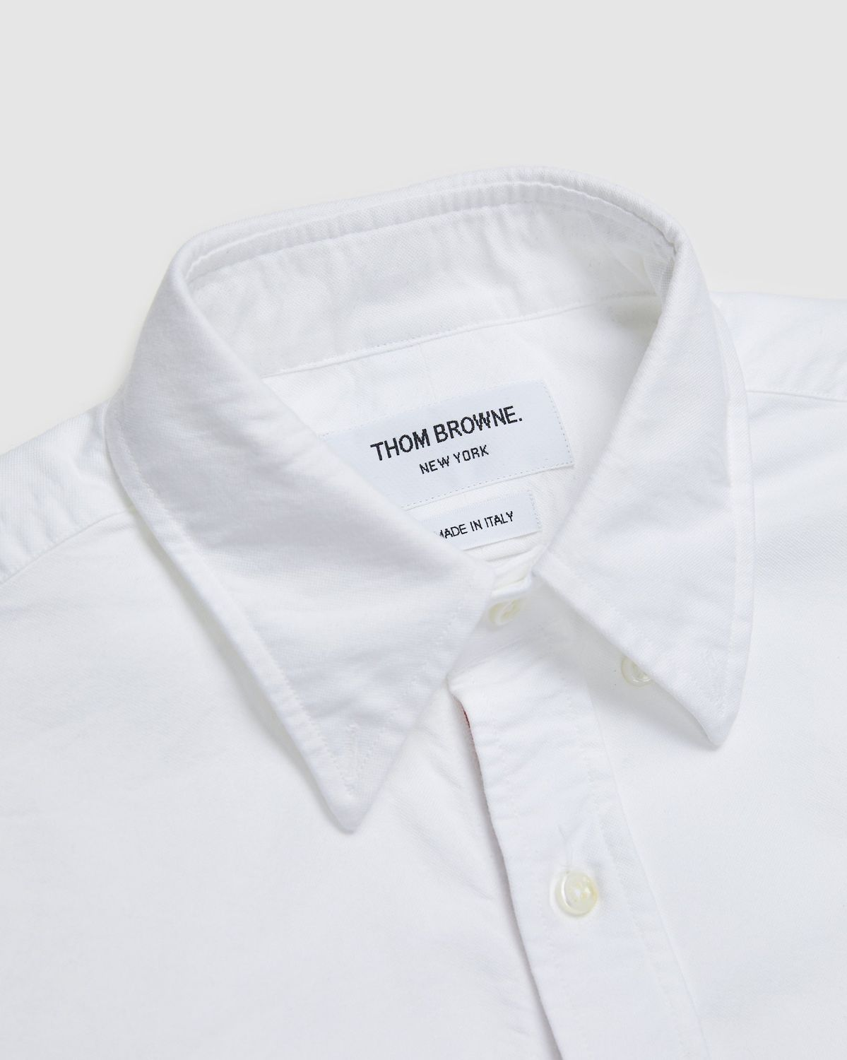 Colette Mon Amour x Thom Browne — White Peace Classic Shirt - Image 3