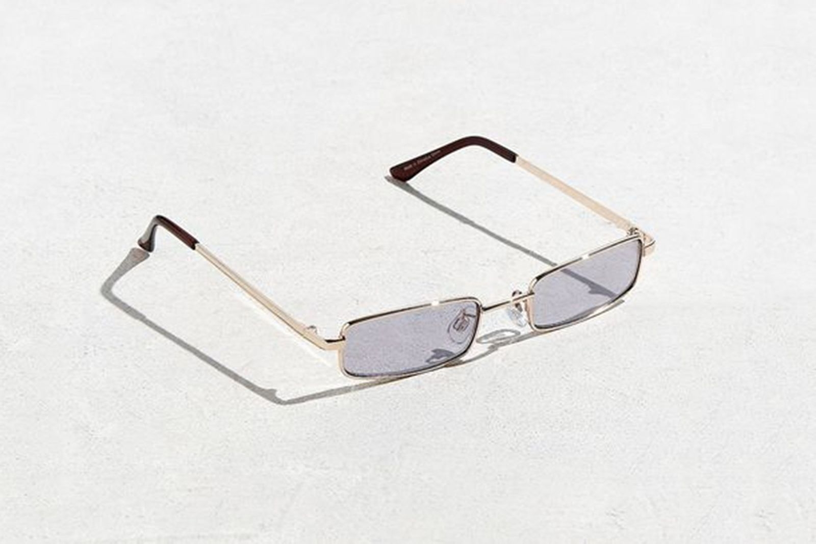 Metal Rectangle Sunglasses