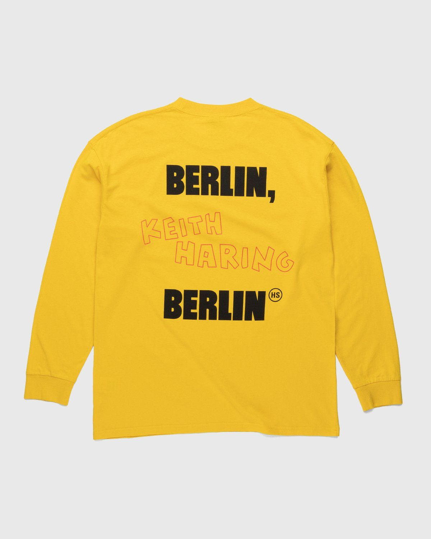 Highsnobiety x Keith Haring – Longsleeve Yellow - Image 1
