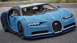 lego driveable bugatti LEGO Technic bugatti chiron