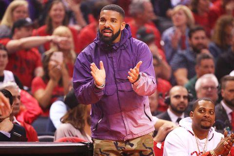 Drake Toronto Raptors game