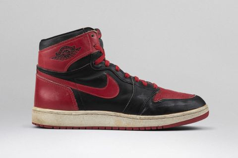 "newest ca4cd b6323 Nike Air Jordan 1 Black Red (""Bred"" ""Banned"")"