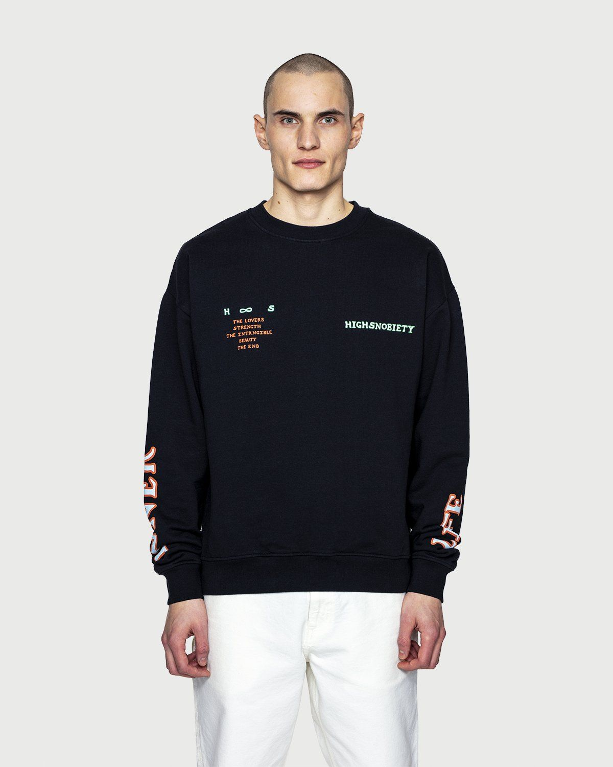 Inner Life by Highsnobiety - The Intangible Sweatshirt Black - Image 2