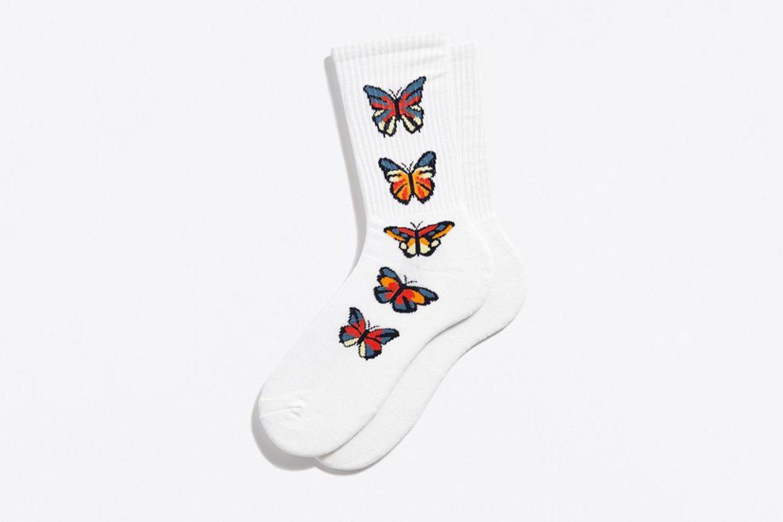 Butterfly Sport Crew Sock