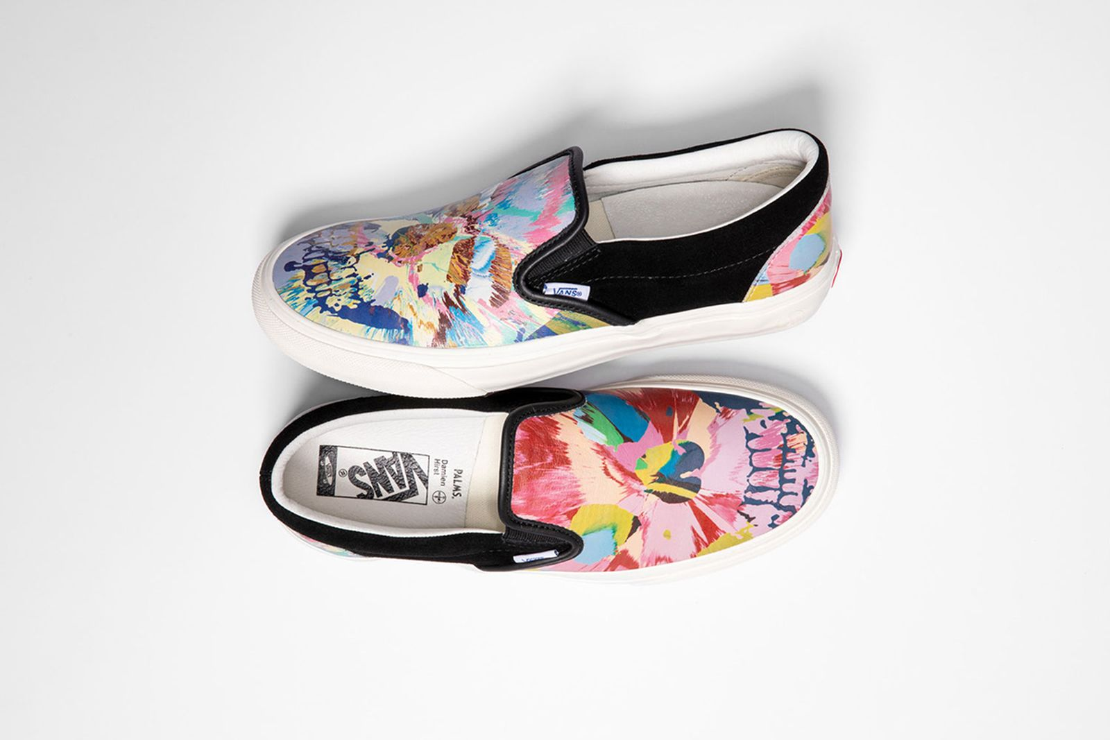 Damien Hirst x Vans Slip-On
