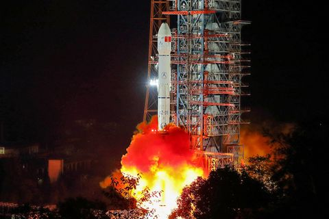 china lands spacecraft dark side moon Moon Landing nasa