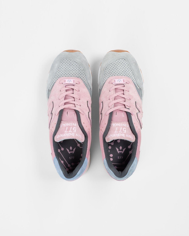 Highsnobiety x New Balance — 577 Pink/Grey - Image 4