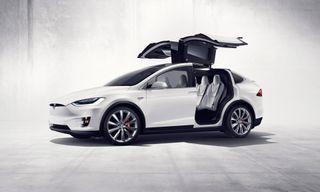 Tesla Finally Unveils the Futuristic Model X Electric SUV