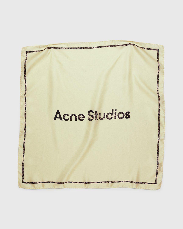 Acne Studios – Logo Bandana Ivory - Image 1