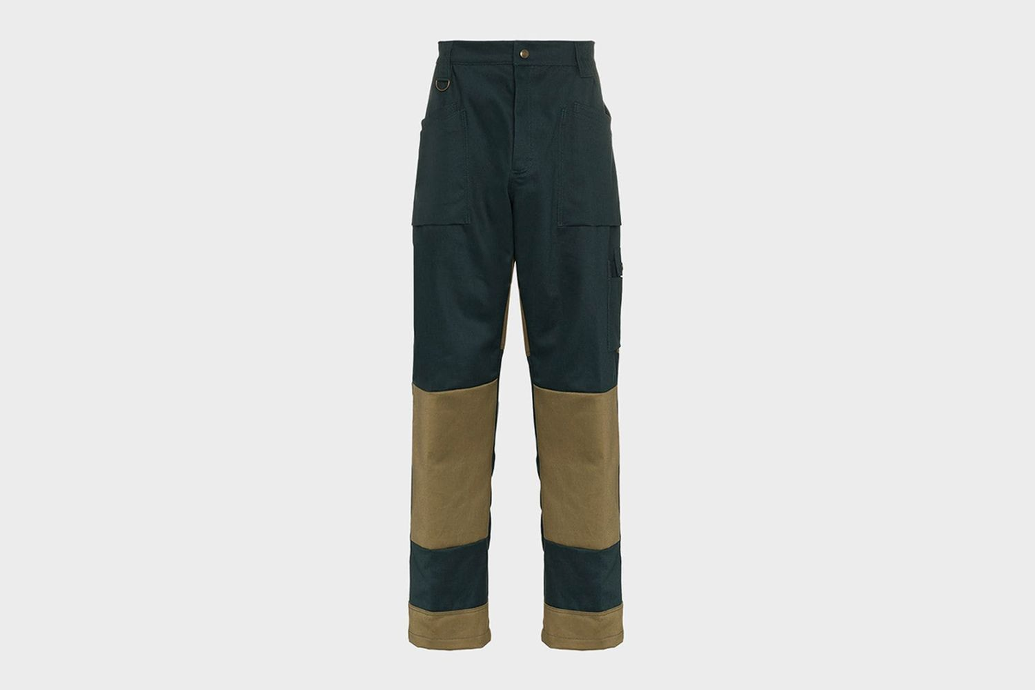 Contrast Panel Trousers