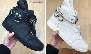 COMME des GARÇONS HOMME Plus  8217  Punk-Inspired Air Jordan 1 Might Be.  Paris Fashion Week Fall Winter 2019 5d386e797