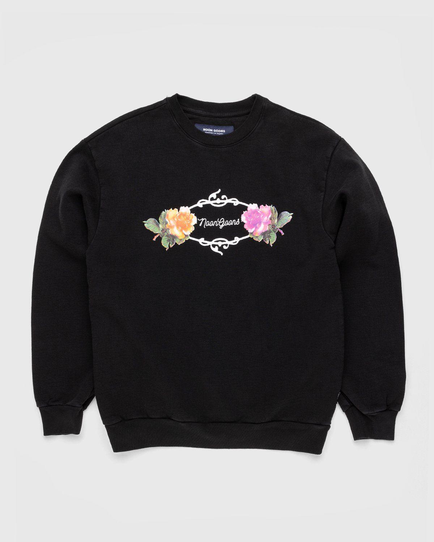 Noon Goons – Garden Sweatshirt Black - Image 1