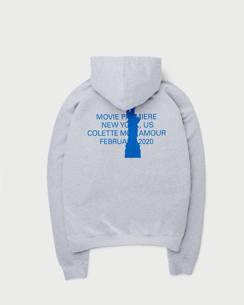 Colette Mon Amour — New York Hoodie Grey