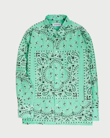 Miyagihidetaka Bandana Shirt Mint