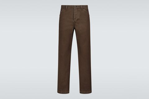 Aleq Straight-Fit Cotton Pants